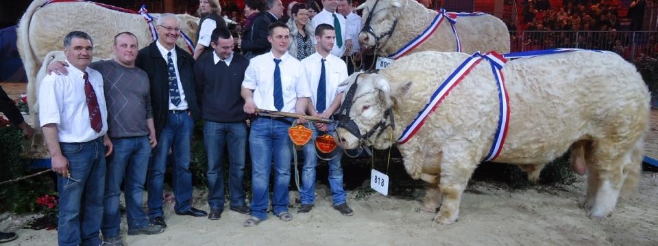 2011 : BACCHUS fait le rappel de Championnat au salon International de l'Agriculture
